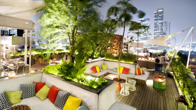 tempat makan Awan Lounge Jakarta