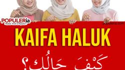 "Kaifa Haluk artinya ""Bagaimana kabarmu?"" lalu begini jawabannya"