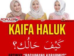 """Kaifa Haluk artinya """"Bagaimana kabarmu?"""" begini cara menjawabnya"""