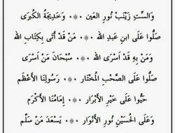 Lirik Sholawat Burikti bahasa Arab dan Artinya Lengkap!