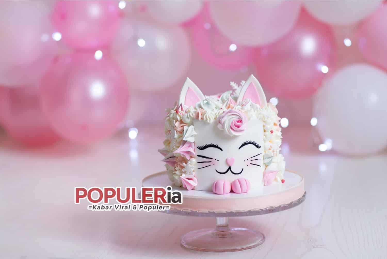 kue ulang tahun anak gambar kucing imut dan lucu 20 Ide Kue Ulang Tahun Anak Lucu Yang Harus Anda Coba!